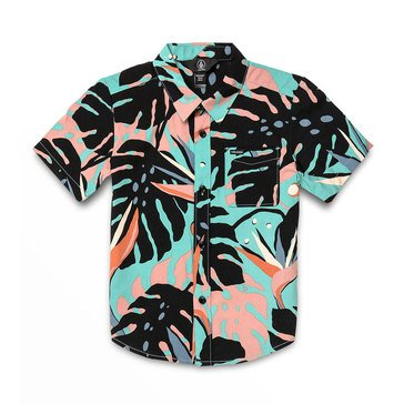 Volcom Big Boys' Mentawais Woven Shirt