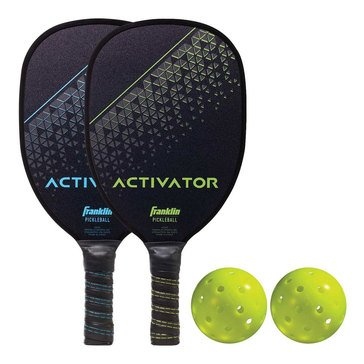 Franklin Activator 2 Player Wood Paddle & Ball Set