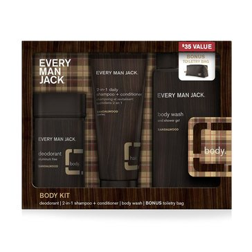 Every Man Jack Sandalwood Body Gift Set