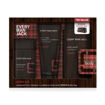 Every Man Jack Cederwood Body Gift Set