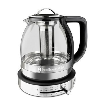KitchenAid Electric Glass Tea Kettle 1.5-Liter