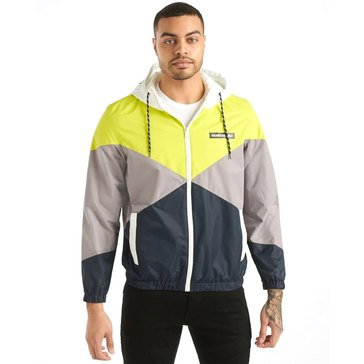 Members Only Men's Hooded Full Zip Windbreaker