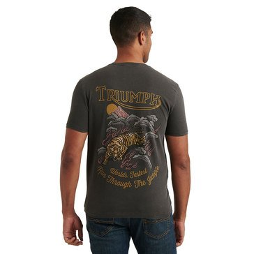 Lucky Triumph Worlds Fastest Tiger FB Crew Ss Tee