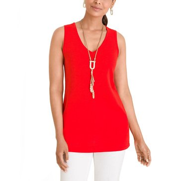 Chico's Women's V-Neck Sweater Tank