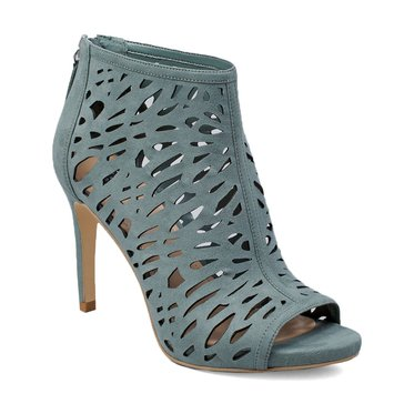 White House Black Market Women's Laser-Cut Booties