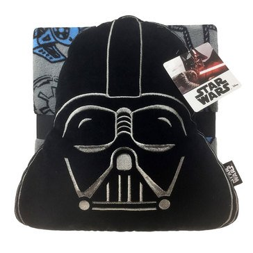 Vader Nogginz Travel Blanket and Pillow Set