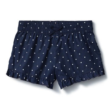 Liberty & Valor Little Girls' Ruffle Hem Shorts