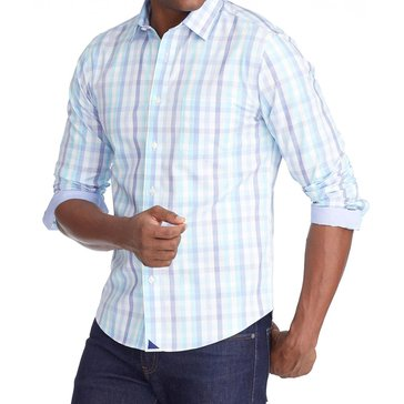 UNTUCKit Men's Wrinkle-Free Canaletto Shirt