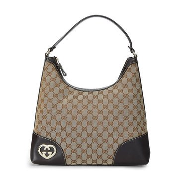 Gucci Brown Canvas 257070