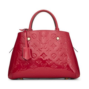 Louis Vuitton Pink Vernis Montaigne BB