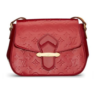 Louis Vuitton Red Vernis Bellflower PM