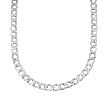 Sterling Silver Mm Curb Chain