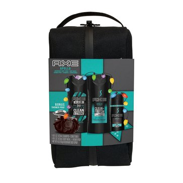 Axe Apollo Moisturizing Body Wash Shower Bag Set