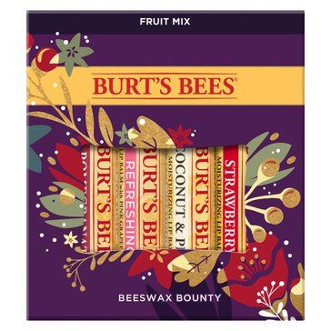 Burt's Bee Beeswax Bounty Fruit Mix Lip Balm Gift Set