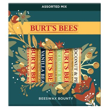 Burt's Bee Beeswax Bounty Assorted Lip Balm Gift Set