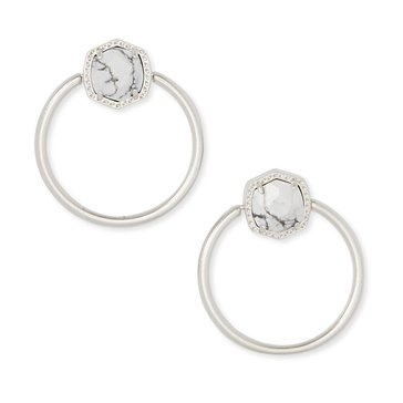Kendra Scott Davie Hoop Earrings