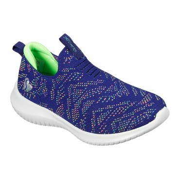 Skechers Kids Big Girls' Ultra Flex Slip On Sneaker