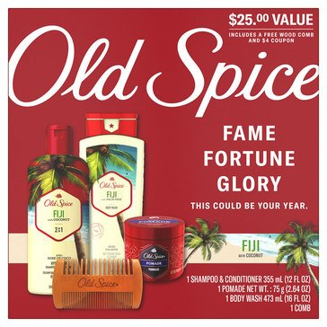 Old Spice Fiji Holiday Pack Set