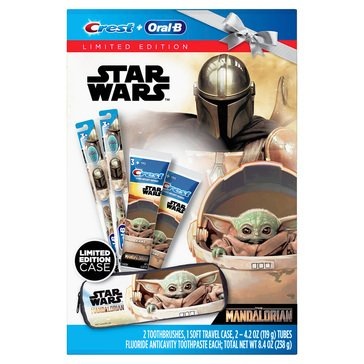 Crest Oral B Starwars Holiday Gift Pack