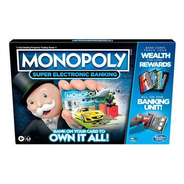 Monopoly Super Electronic Banking Game