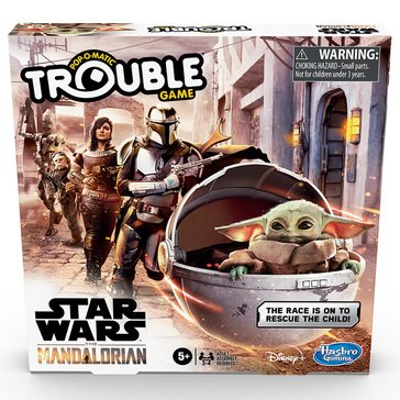 Star Wars The Mandalorian Trouble