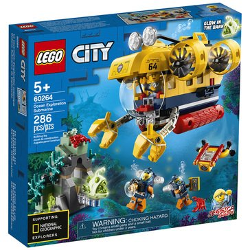 LEGO City Ocean Exploration Submarine (60264)