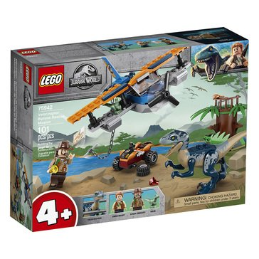 LEGO Jurassic World Velociraptor Biplane Rescue Mission (75942)