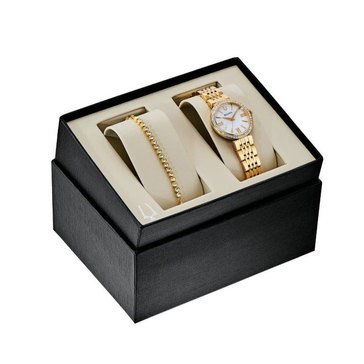 Bulova Women's Crystal Gift Set Bracelet Watch