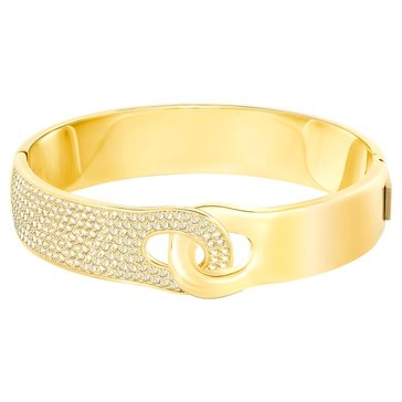 Swarovski Gallon Gold Bangle