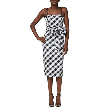 White House Black Market Women's Midi Sheath Dress