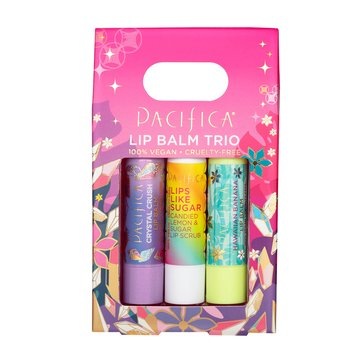 Pacifica Lip Balm Trio Set
