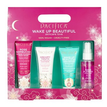 Pacifica Wake up to Roses Holiday Set