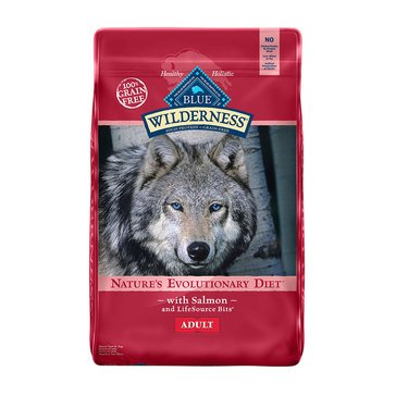 Blue Buffalo Wilderness Grain Free Salmon Adult Dog Food