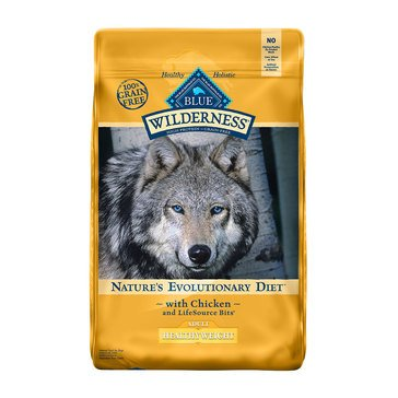 Blue Buffalo Wilderness Healthy Weight Adult Dog Food