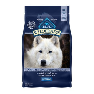 Blue Buffalo Wilderness Grain Free Senior Dog Food