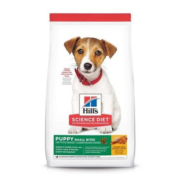 Hill's Science Diet Canine Puppy Small Bites Chicken & Barley Dog Food