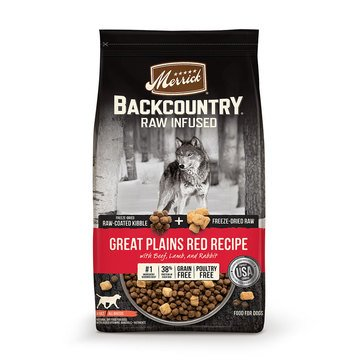 Merrick Backcountry Great Plains Red Meat Adult Dog Food