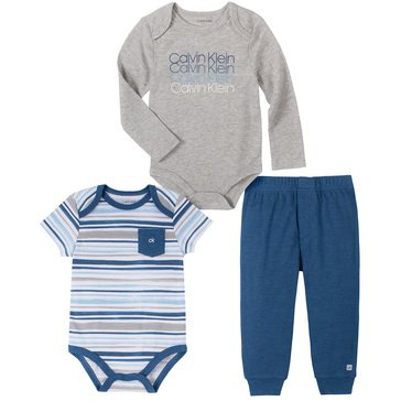 Calvin Klein Baby Boys' 2 Bodysuits And Pants