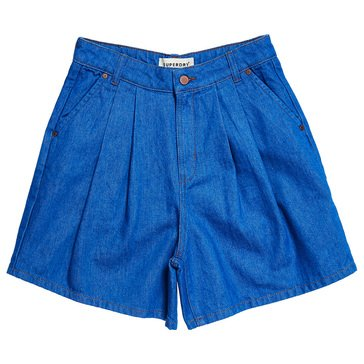 Superdry Women's Denim A Line Shorts