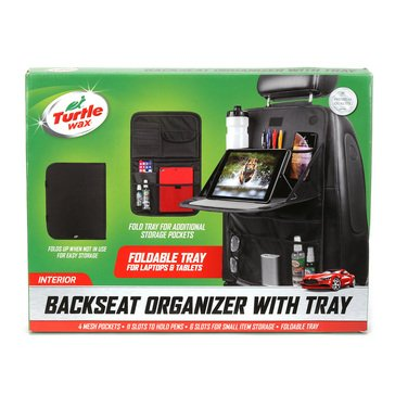Turtle Wax Back Seat Organizer with Tray