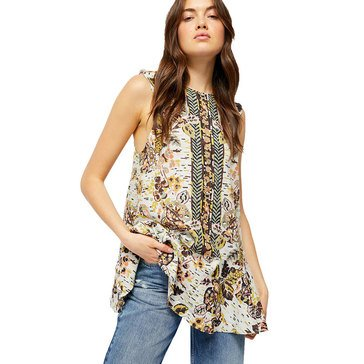 Free People Women's Summer in Tulum Printed Tunic