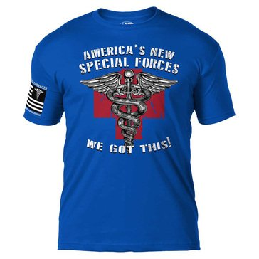 7.62 CV-19 Americas Strong Special Forces Tee