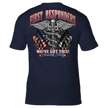 7.62 CV-19 Americas Strong First Responders-We got this! Tee