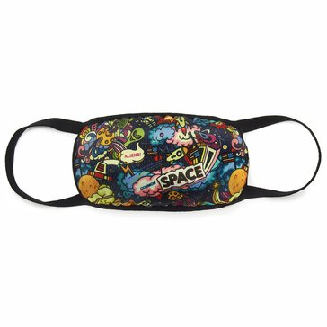 Hollywood Denim Kids' Space Explorer 3 Ply Face Mask with Nose Clip