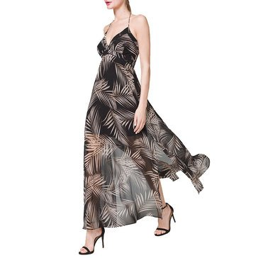 White House Black Market Women's Halter Maxi Dress