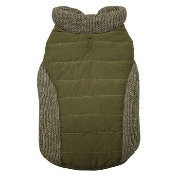 Ethical Pet Sweater Trim Puffy Coat