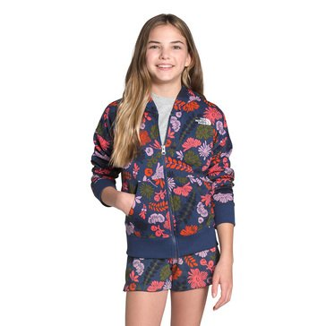 The North Face Big Girls' Logowear Full Zip Hoodie