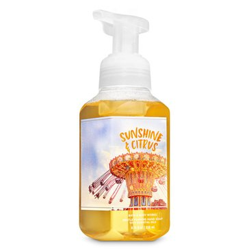 Bath and Body Works Wish You Were Here Foaming Soap - Sunshine Citrus