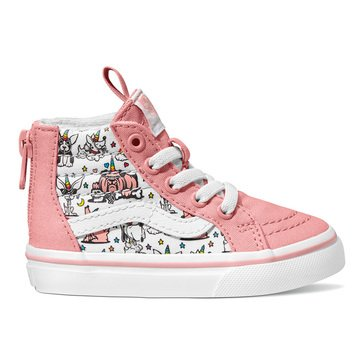 Vans Toddler Girls' Sk8-Hi Zip Puppicorns Hi-Top Sneaker