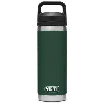 Yeti Rambler 18 oz Bottle w/ Chug Cap Northwoods Green